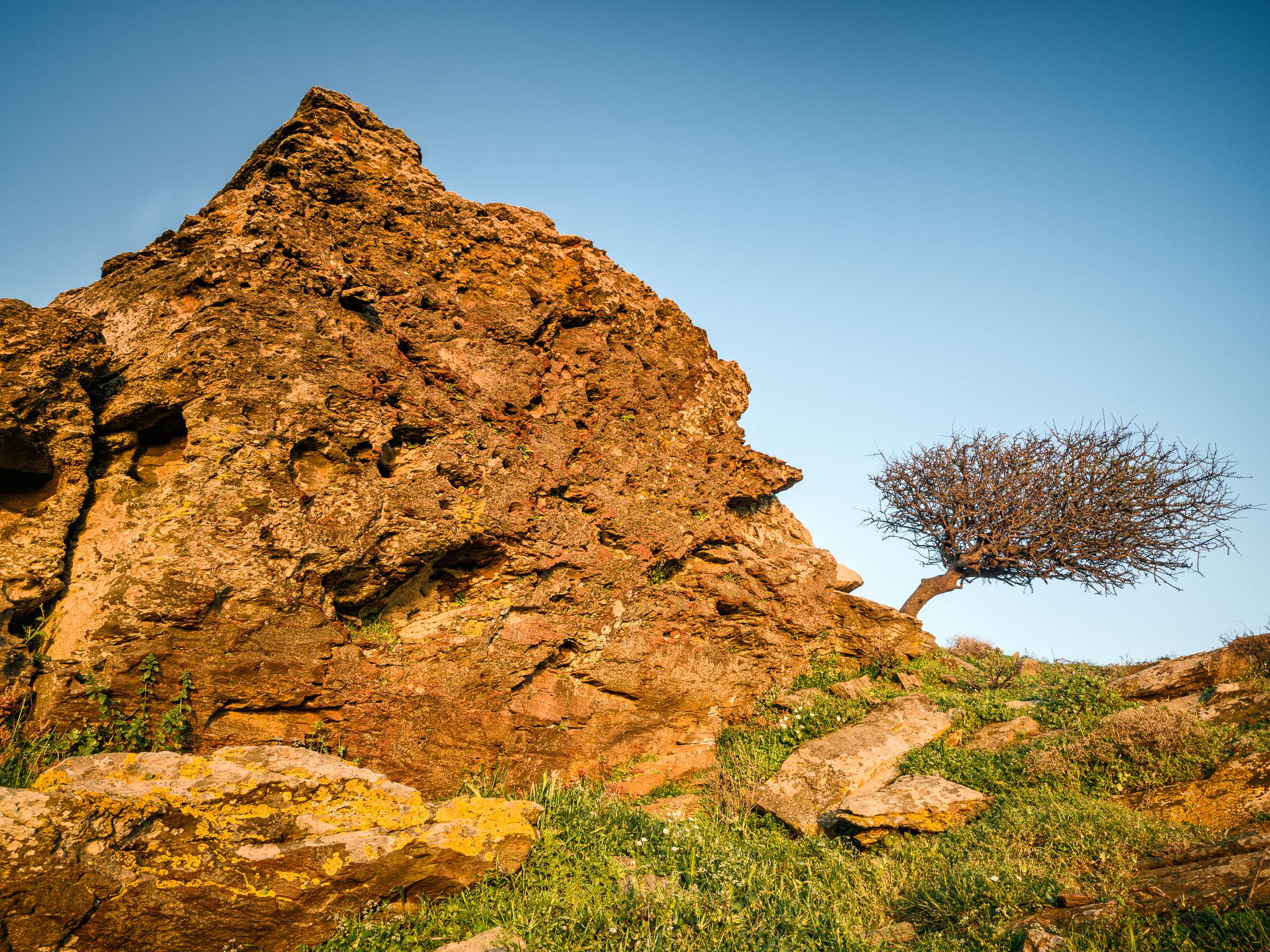 Korthi Rock formations II - Andros
